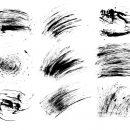 9 Scratch Grunge Overlay (PNG Transparent) Vol. 2