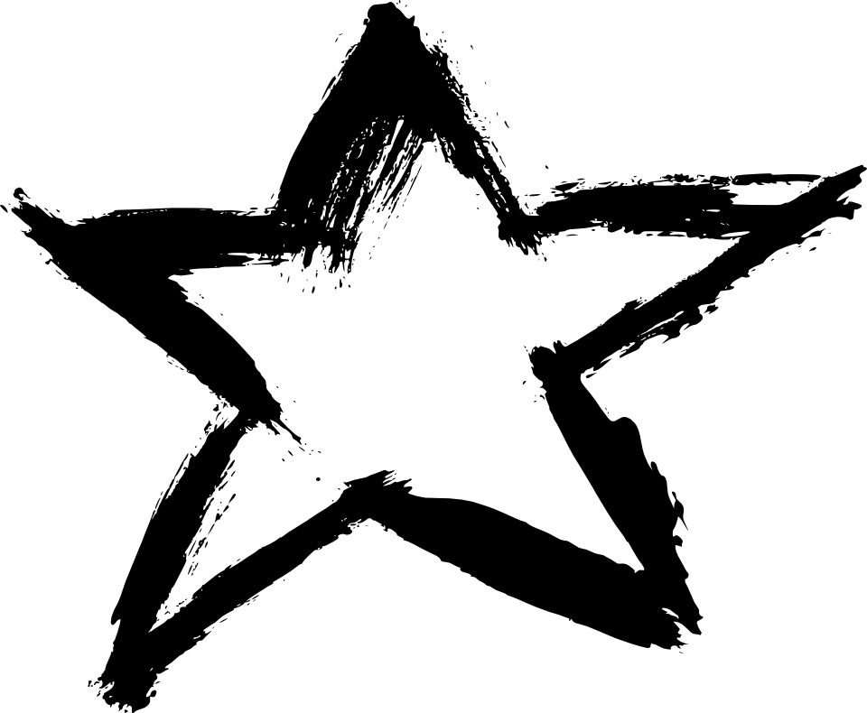 8 Grunge Star (PNG Transparent) Vol. 2   OnlyGFX.com