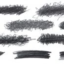 10 Pencil Scribble Banner (PNG Transparent)
