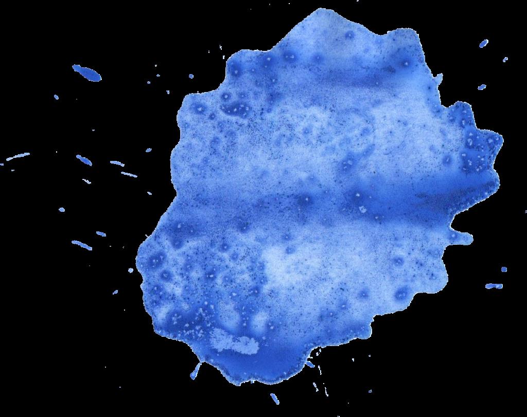 20 blue watercolor splatter png transparent onlygfxcom