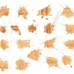 18 Brown Watercolor Splatter (PNG Transparent)