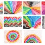 10 Crayon Drawing Background (JPG)
