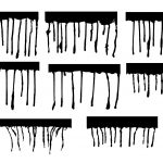 8 Paint Drip Top (PNG Transparent)