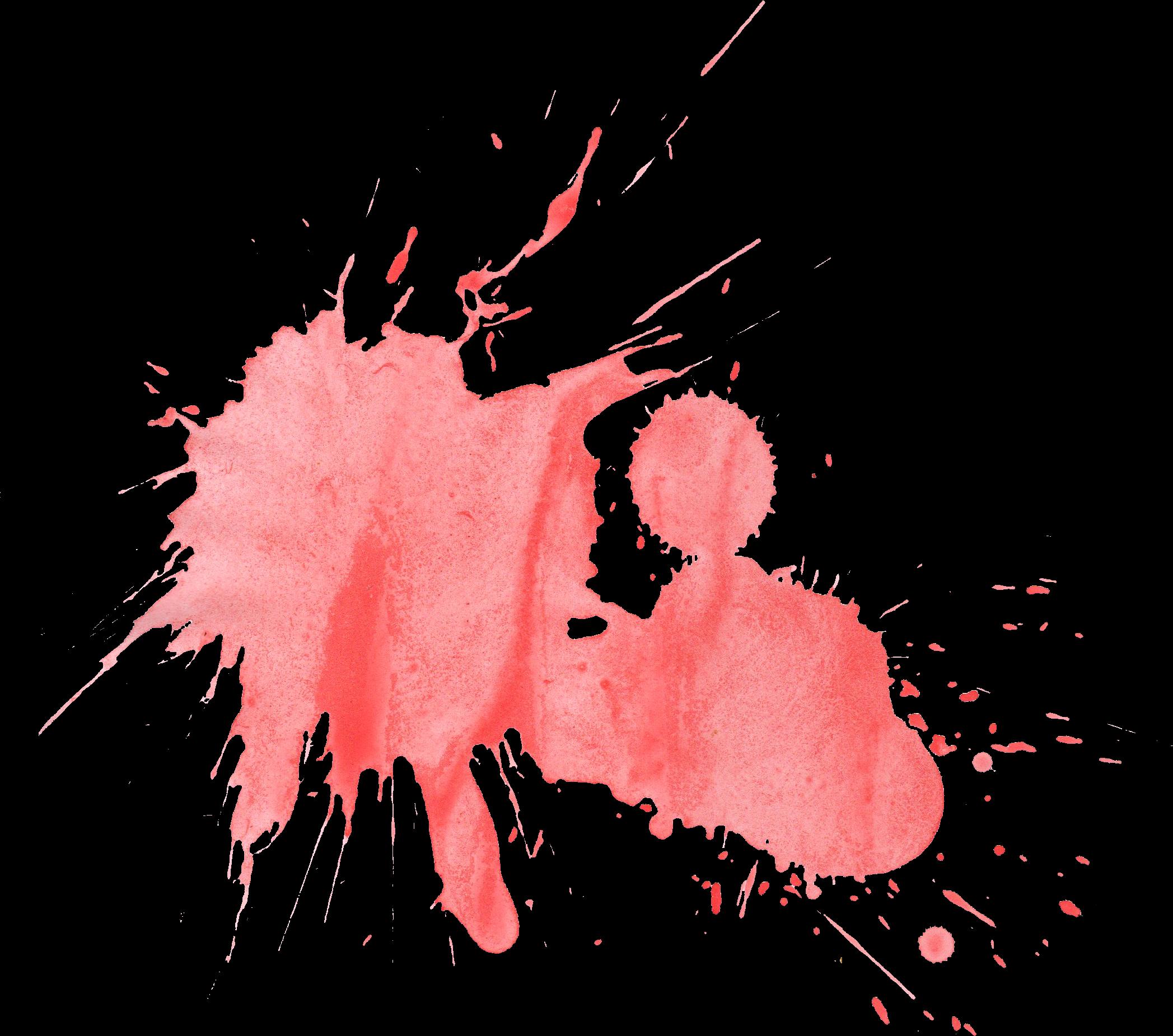 21 Red Watercolor Splatter (PNG Transparent) | OnlyGFX.com