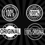 4 100% Original Stamp Vector (PNG Transparent, SVG)