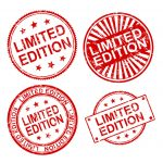 4 Limited Edition Stamp Vector (PNG Transparent, SVG)