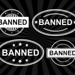 4 Banned Stamp Vector (PNG Transparent, SVG)