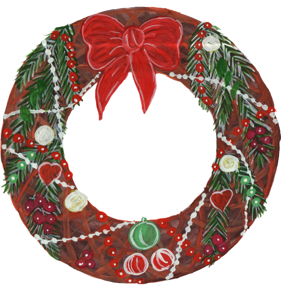 Christmas Reef Png.6 Christmas Wreath Png Transparent Onlygfx Com