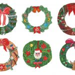 6 Christmas Wreath (PNG Transparent)