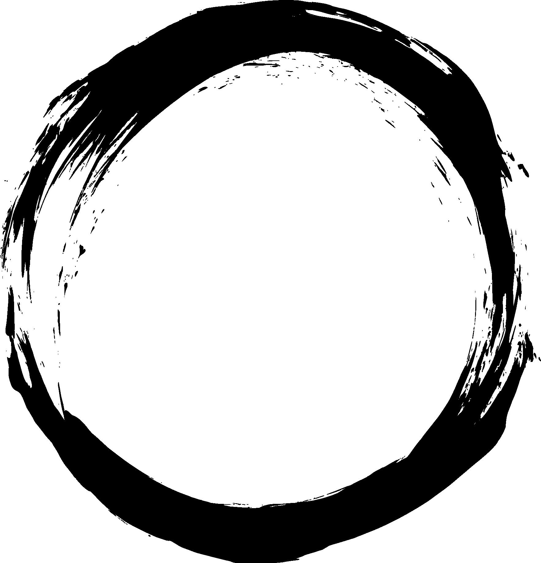 6 Grunge Circle Frame Png Transparent Onlygfx Com