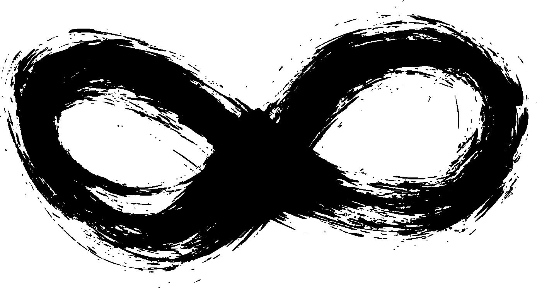 6 Grunge Infinity Symbol Png Transparent Onlygfx