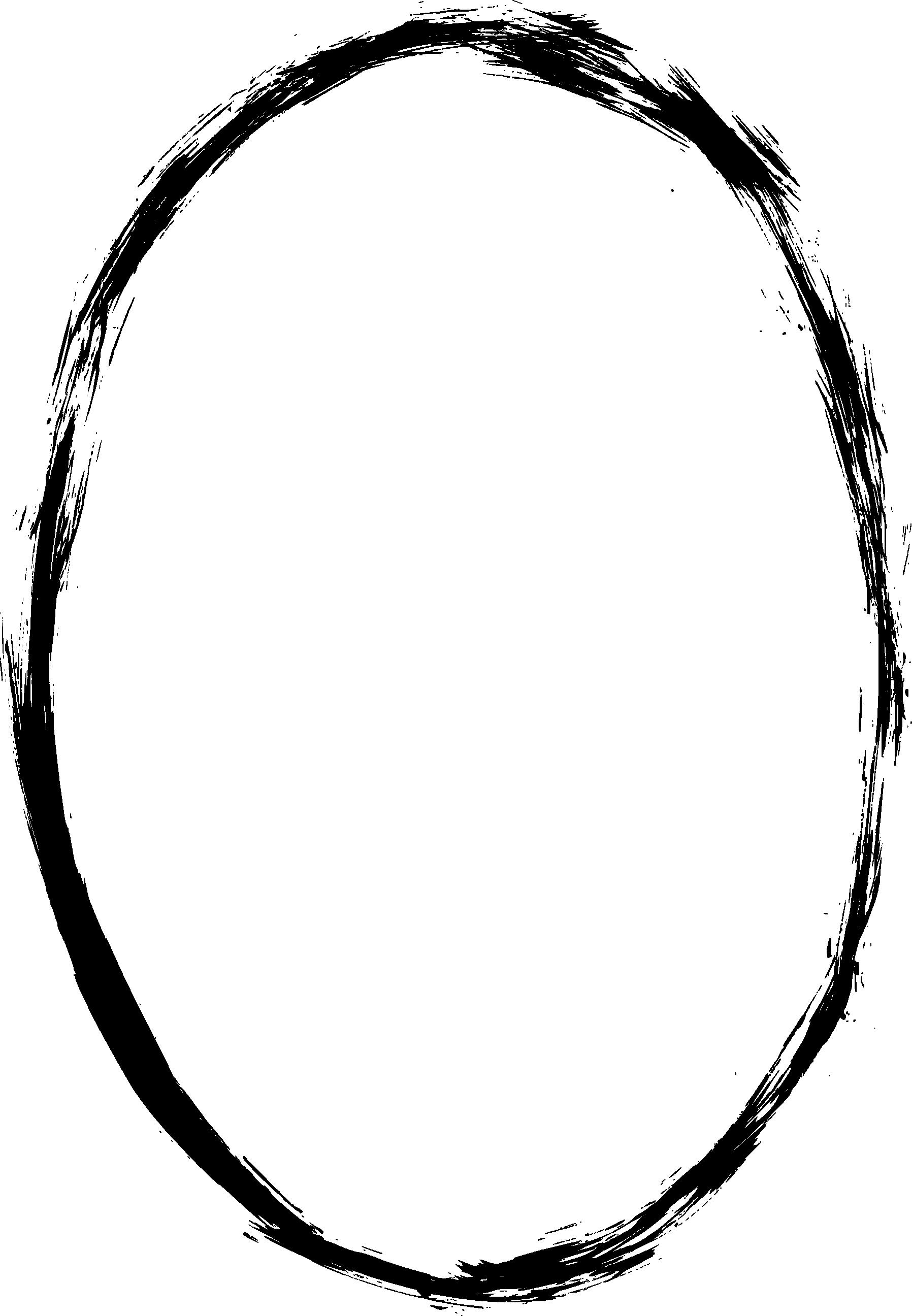 6 Grunge Oval Frame Png Transaprent Onlygfx Com