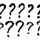 10 Grunge Question Mark (PNG Transparent)