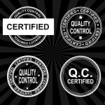 4 Quality Control Certified Stamp Vector (PNG Transparent, SVG)