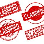 4 Classified Stamp Vector (PNG Transparent, SVG)