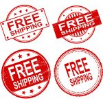 4 Free Shipping Stamp Vector (PNG Transparent, SVG)
