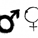 4 Grunge Gender Symbol (PNG Transparent)