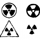 4 Grunge Radioactive Sign (PNG Transparent)