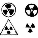 4 Grunge Radioactive Sign (PNG Transparent)
