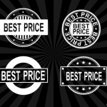 4 Best Price Stamp Vector (PNG Transparent, SVG)