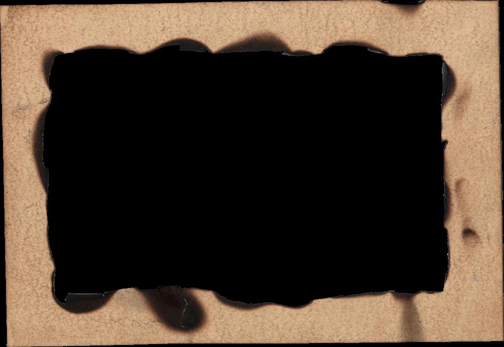 4 Burn Old Paper Frame (PNG Transparent) | OnlyGFX.com