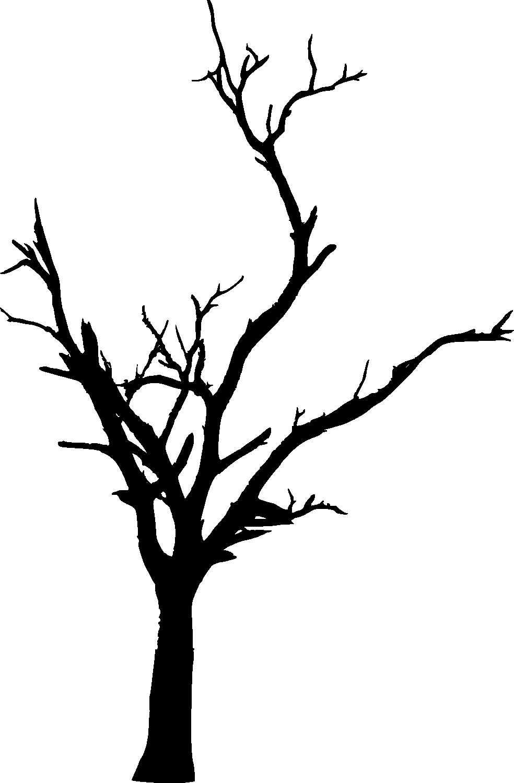 Dead silhouette