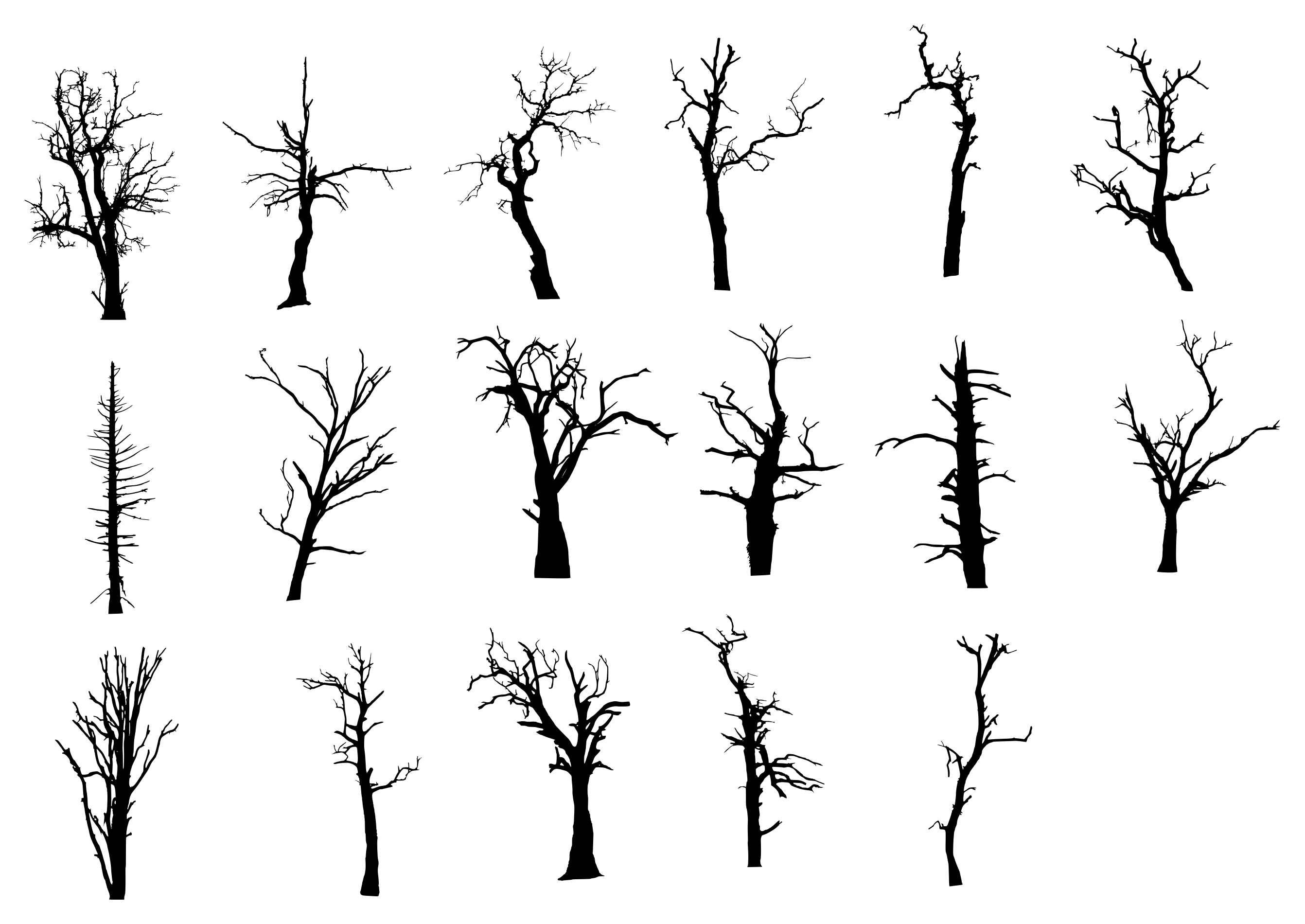 17 dead tree silhouette png transparent onlygfx com 17 dead tree silhouette png