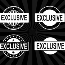 4 Exclusive Stamp Vector (PNG Transparent, SVG)