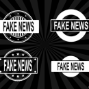 4 Fake News Stamp Vector (PNG Transparent, SVG)