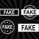 4 Fake Stamp Vector (PNG Transparent, SVG)