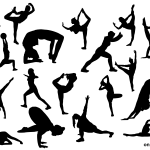18 Fitness Silhouette (PNG Transparent)