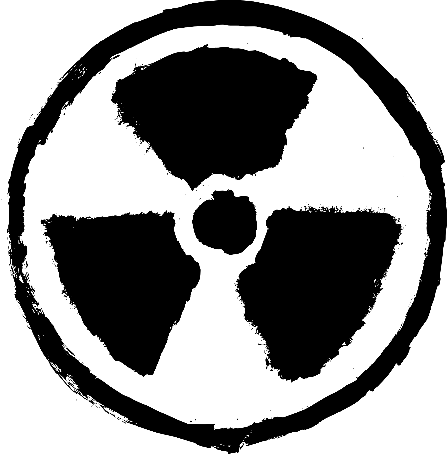 4 Grunge Radioactive Sign (PNG Transparent) | OnlyGFX.com