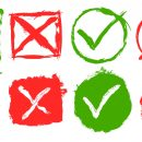 8 Grunge Yes No Icon (PNG Transparent)