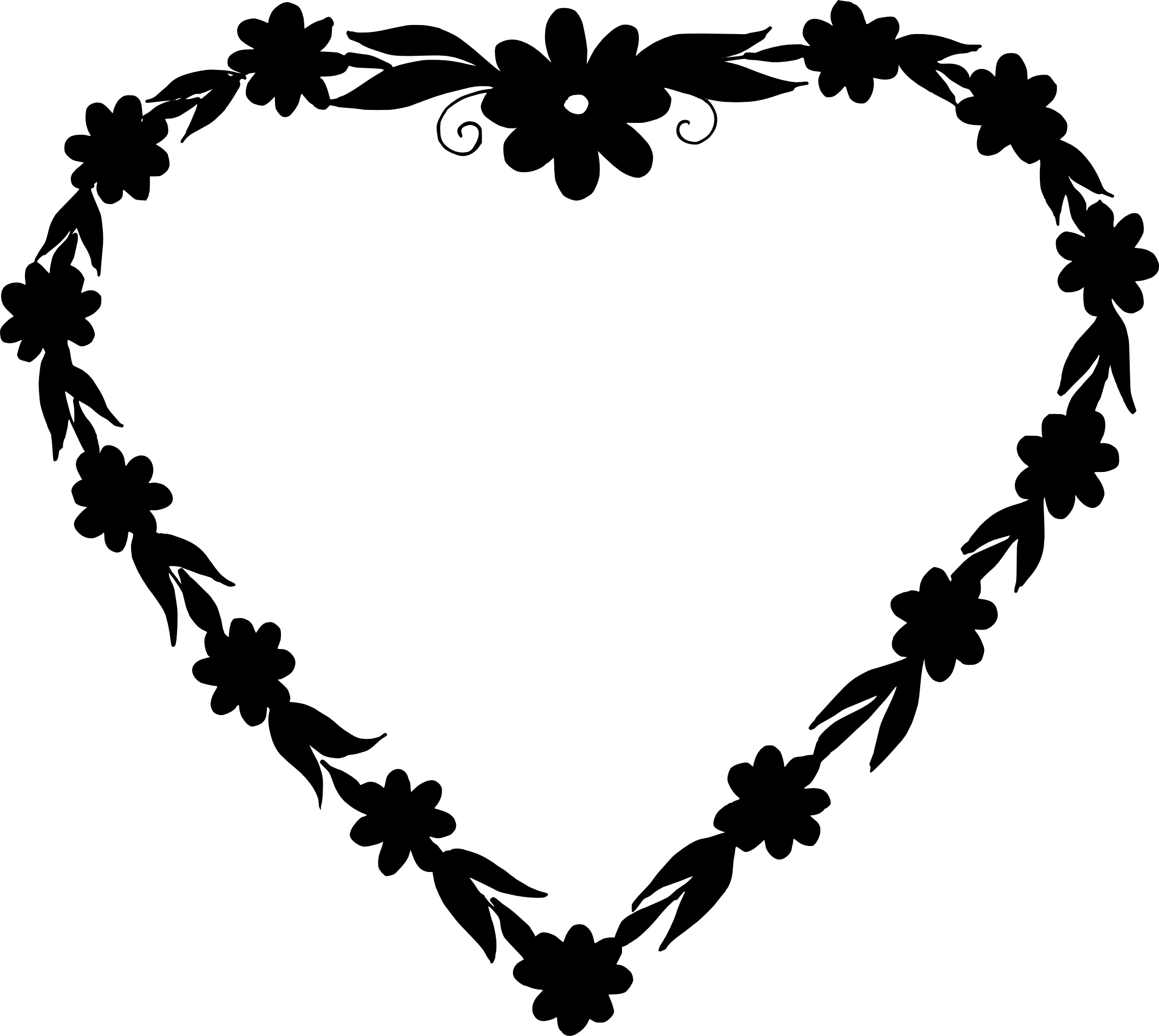 4e38c06dddf 10 Heart Frame Vector (PNG Transparent
