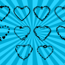 10 Heart Frame Vector (PNG Transparent, SVG)
