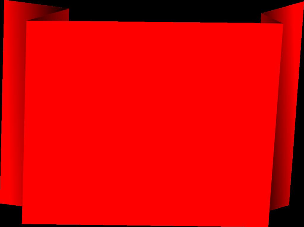 4 Origami Banner Square Vector Png Transparent Svg Onlygfx Com