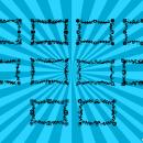10 Rectangle Flower Frame Vector (PNG Transparent, SVG)