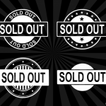 4 Sold Out Stamp Vector (PNG Transparent, SVG)