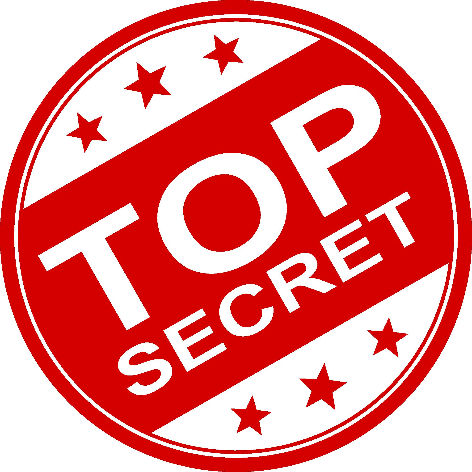 Free Download Top Secret Stamp 1