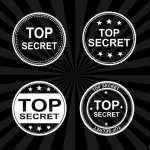 4 Top Secret Stamp Vector (PNG Transparent, SVG)