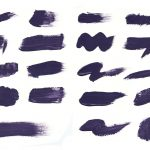 19 Purple Paint Brush Stroke (PNG Transparent)