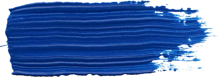 Free Blue Paint Brush Stroke 1 Png