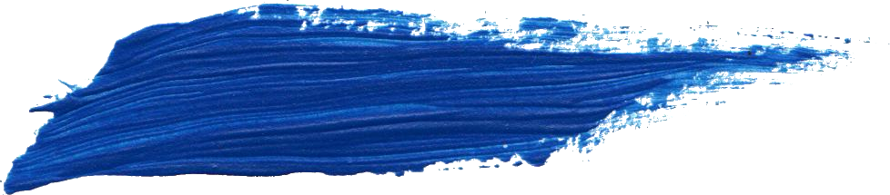 Free Blue Paint Brush Stroke 3 Png