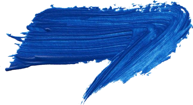 Free Blue Paint Brush Stroke 7 Png