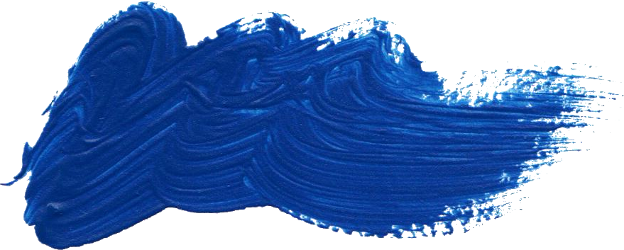 Free Blue Paint Brush Stroke 8 Png