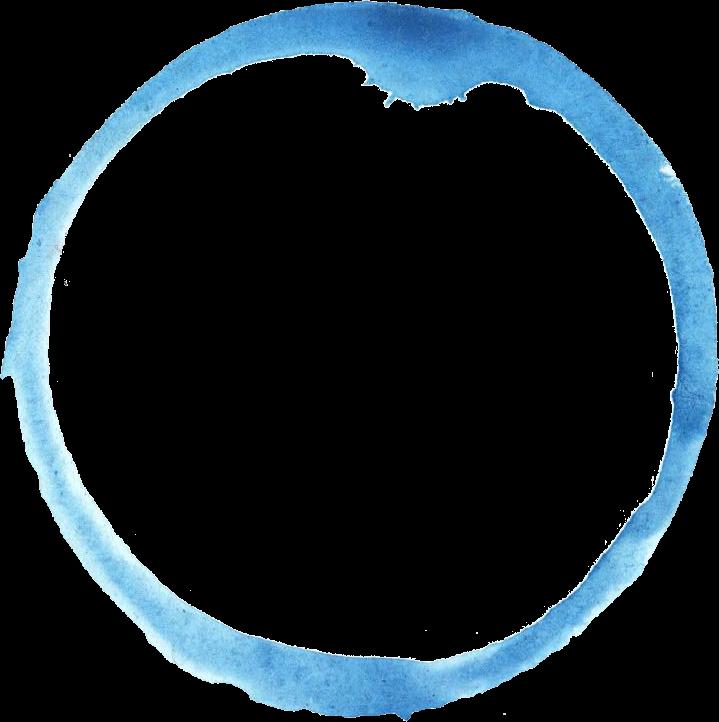 6 Blue Watercolor Circle (PNG Transparent)   OnlyGFX.com