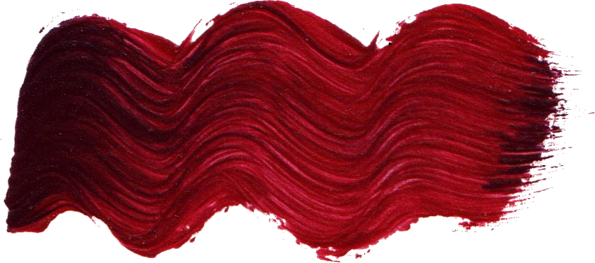 Free Dark Red Paint Brush Stroke 2 Png