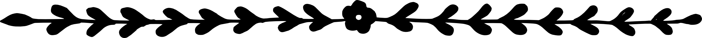 6 Flower Line Border (PNG Transparent) | OnlyGFX.com