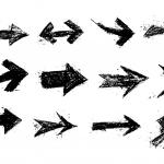 12 Grunge Arrow (PNG Transparent) Vol. 2
