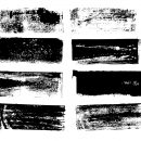 8 Grunge Banner Label Rectangle (PNG Transparent)